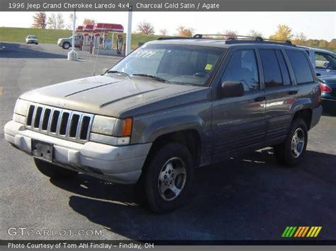 1996 Jeep Laredo Charcoal Gold Satin 1996 Jeep Grand Laredo 4x4