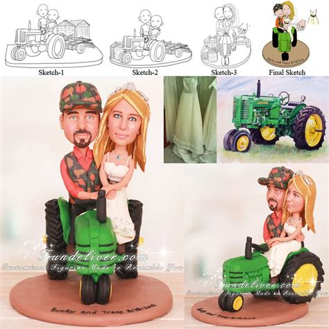 Topper Barnyard 001 160 best images about theme wedding cake toppers on as i lay dying wedding