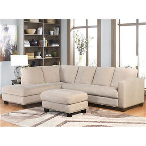 Living Room Furniture Richmond Va Richmond Fabric Sectional And Ottoman Living Room Set