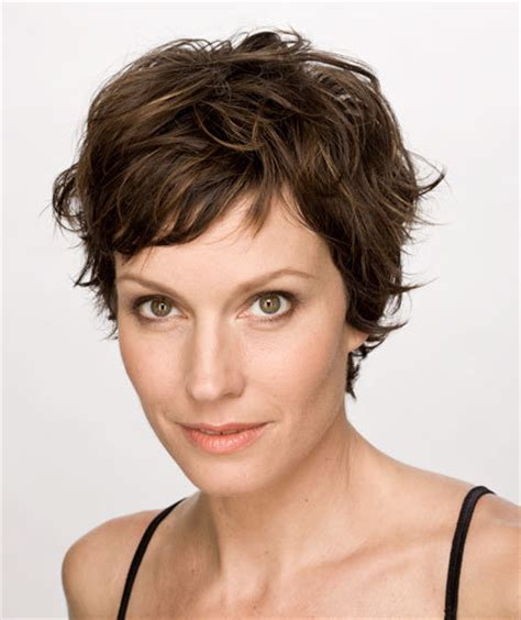 Tousled Short Hair Real People   tousled pixie cut sexy short hairstyles real simple