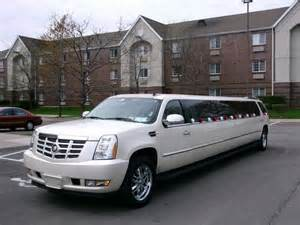 Limousine Cadillac Escalade Cadillac Escalade Stretch Suv 20 Passenger Emperor
