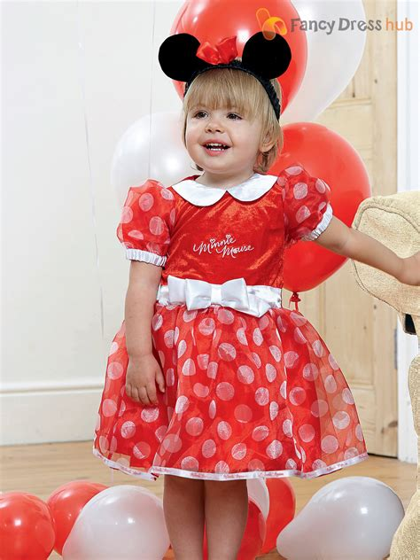 Minnie Dress baby toddler deluxe minnie mouse costume disney fancy