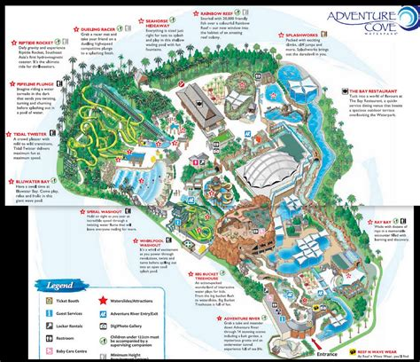 aquaria resort map marine park attractions archives sengkang babies