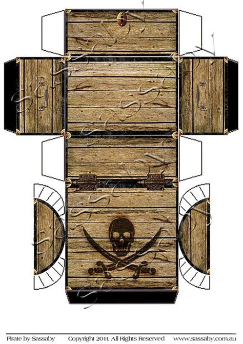 paper treasure chest template best 25 pirate treasure chest ideas on pirate