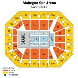 mohegan sun arena seating chart memes