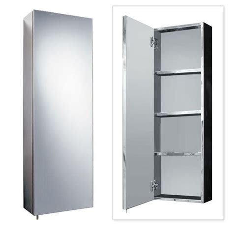 tall mirrored bathroom cabinets stainless steel tall mirrored cabinet stainless steel bathroom accessories betterbathrooms