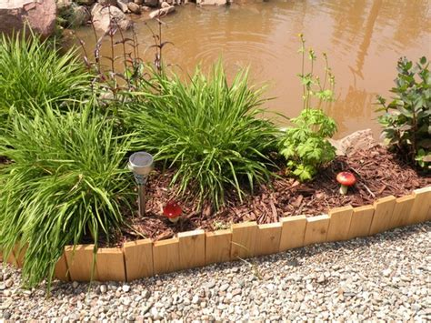 Timber Garden Edging Ideas 37 Creative Lawn And Garden Edging Ideas With Images Planted Well