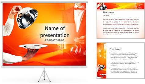 festive powerpoint templates festive table laying powerpoint template backgrounds id