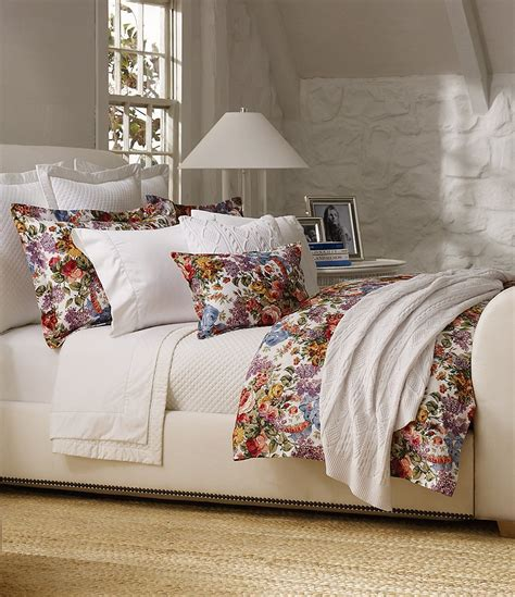 lauren bedding ralph lauren allison floral quilted comforter dillards