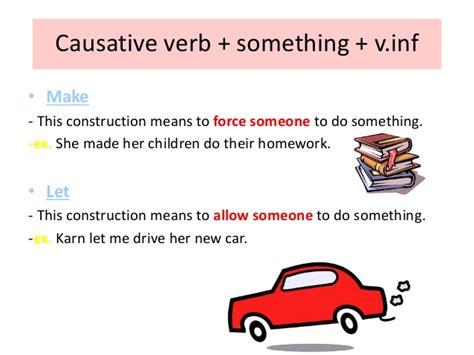 verb pattern force verb pattern