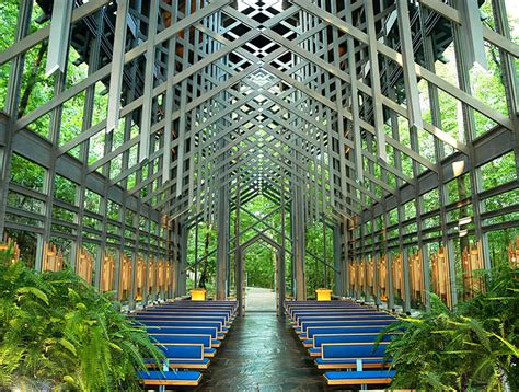 Small Church Floor Plans by Eureka Springs Open Air Thorncrown Chapel Is A Paragon Of