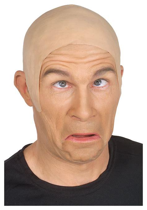 bald head bald guy wig funny bald head wig accessory