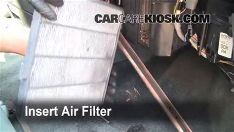 How To Check Cabin Air Filter by 1999 2004 Honda Odyssey Cabin Air Filter Check 2003