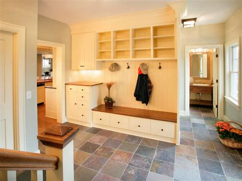 mudroom design mudrooms inside vs outside hgtv