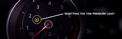 Reset Tire Pressure Light by How To Turn The Tire Pressure Light On Vw