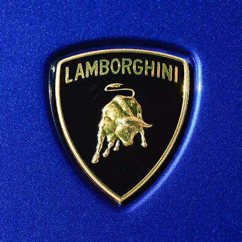 lamborghini emblem photograph by reger
