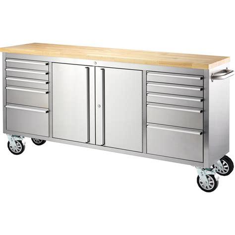 bunnings tool storage bench ultimate storage 1850 x 500 x 950mm tool trolley