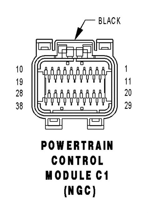 Anyone have PCM wiring pin out diagram 04 RAM? - Moparts