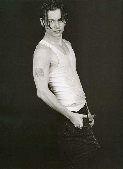 johnny depp photo shoots