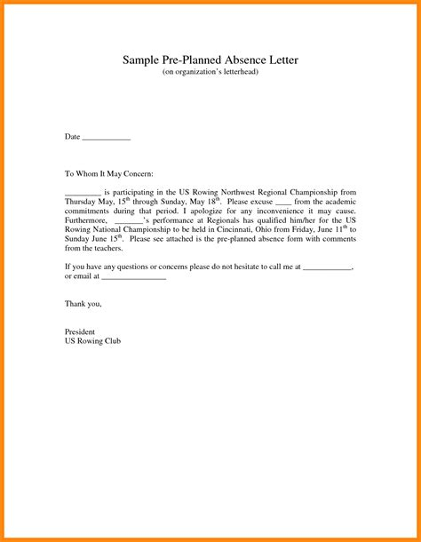 Apology Letter From Parent To For Absence 5 Apology Letter To For Absence Driver Resume