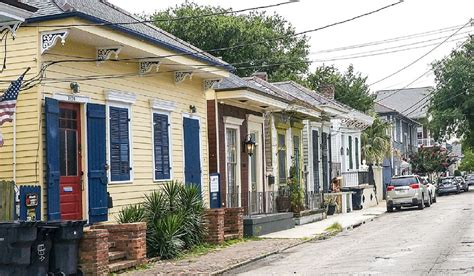 Vacation Homes New Orleans by In Historic District Of New Orleans A Walk From The