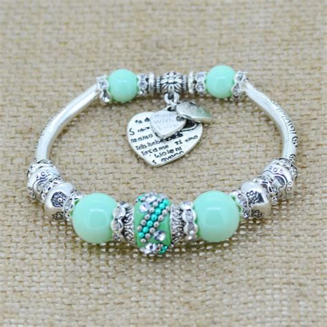 Handmade Charm Bracelet - aliexpress buy fashion serling silver jewelry