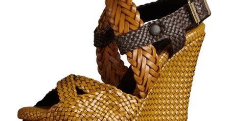 Sepatu Wedges Rajut Anyaman J2 tren gaya remaja terbaru trend sepatu wedges dari rotan