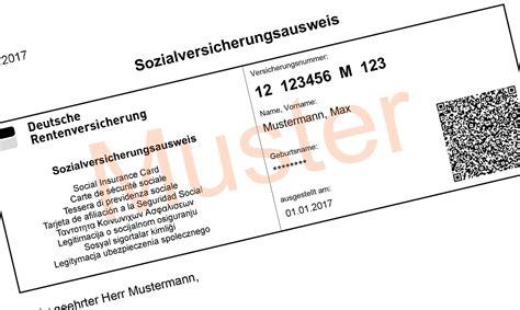 wann neuen personalausweis beantragen sozialversicherungsausweis beantragen sv ausweis