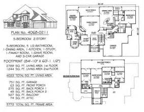 5 bedroom house plans 2 story 5 bedroom to estate 4500 sq ft