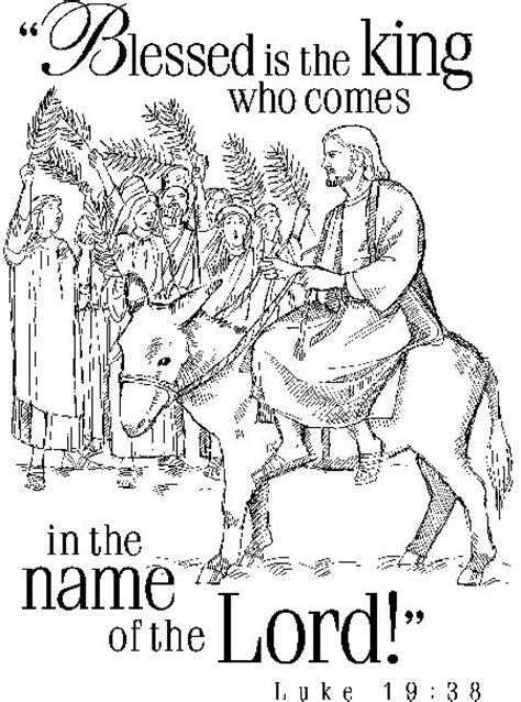 coloring page jesus triumphal entry 78 images about bible jesus and his triumphal entry on