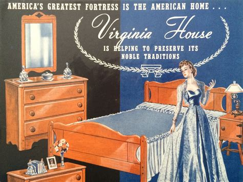 Virginia House Furniture Company by Original Vintage 1940s Virginia House Maple Furniture