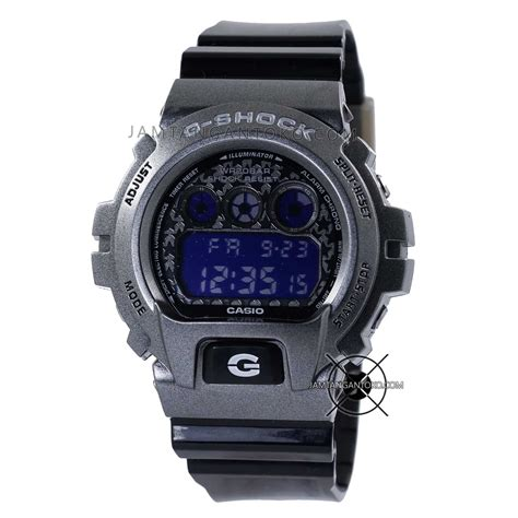 Jam Tangan Pria Dw Ab1272 Silver Plat Black T1310 gambar jam tangan g shock dw 6900sc 8 black titanium ori