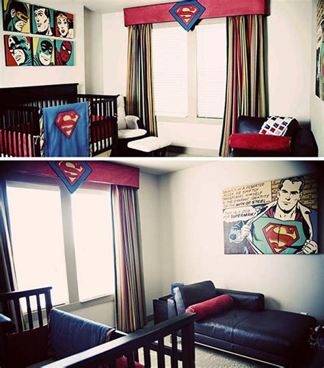 superman bedroom decor coolest kids bedroom with superman themes house design