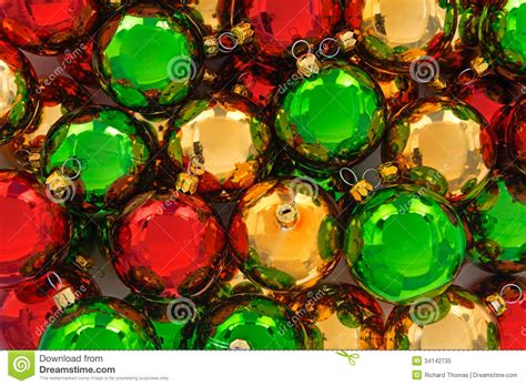 green baubles decorations ornaments royalty free stock photo image 34142735