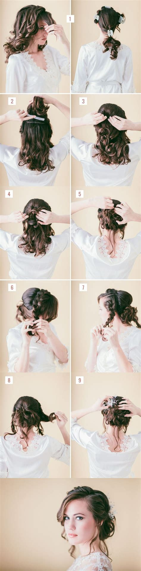Homecoming Hairstyles For Hair Tutorial by 10 Easy Tutorials To Make Wedding Hair Pretty Designs