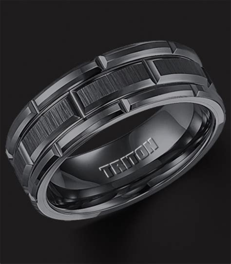black tungsten mens wedding bands black tungsten rings mens black wedding bands tungsten