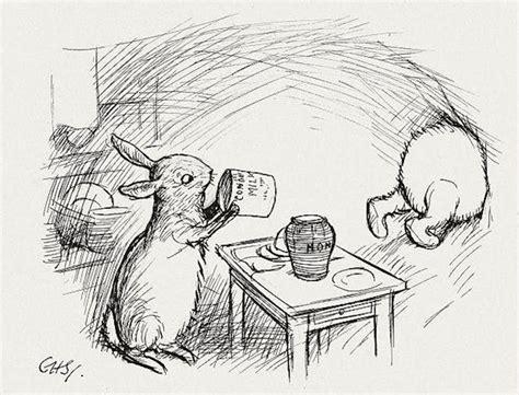 E H Shepard Sketches by Gems E H Shepard S Original Winnie The Pooh Drawings