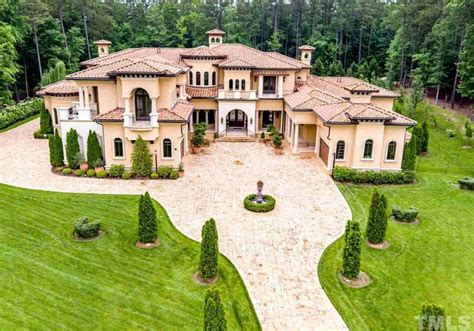 mediterranean mansion 11 000 square foot mediterranean mansion in durham nc