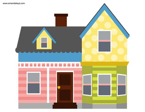 printable house from up search google search and house on pinterest