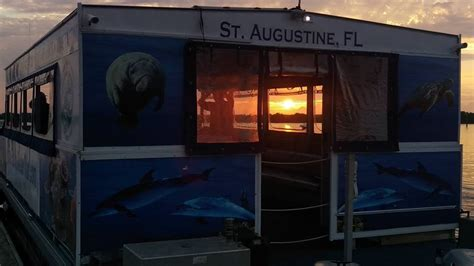 st augustine sunset boat tours st augustine florida water tours augustine boat tours