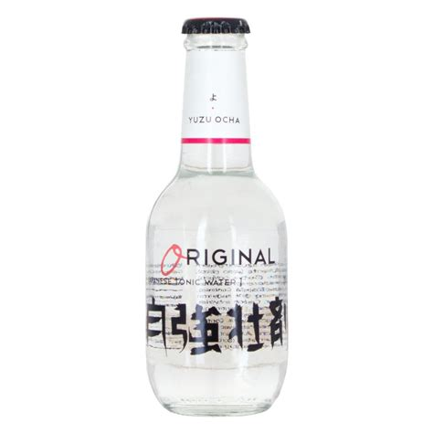 Original Produk Debiuryn Tonic the original yuzu ocha japanese tonic water 200ml drinksupermarket