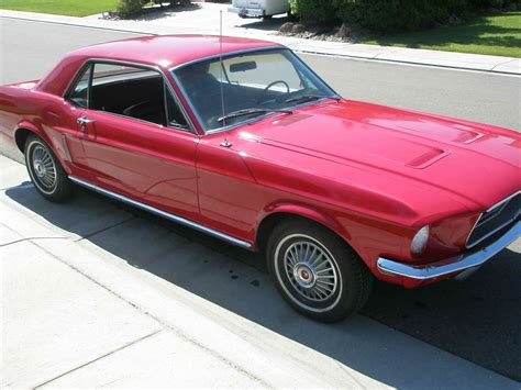 Car Upholstery San Jose 1968 Mustang Coupe For Sale