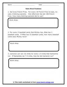 sixth grade math worksheets word problems