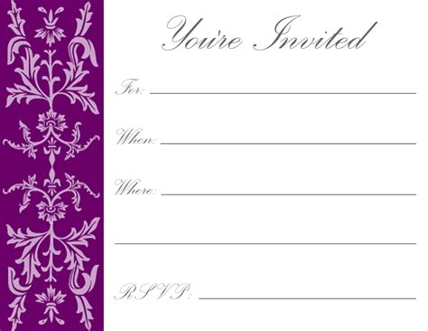 invitation cards templates free printable printable birthday invitations luxury lifestyle design