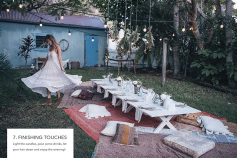 how to spell backyard how to host a bohemian dinner party spell the gypsy