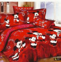 red mickey and minnie mouse bedding sets for christmas