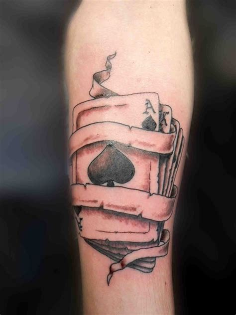 ace of spades tattoo designs and meanings