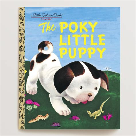 poky puppy book the poky puppy a golden book world market