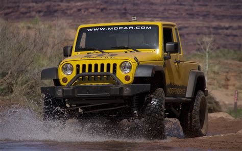 jeep offers jk 8 truck conversion for wrangler