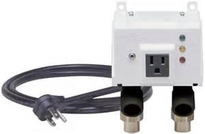 Sensor Kitchen Faucet automatic washing machine water shutoff valve